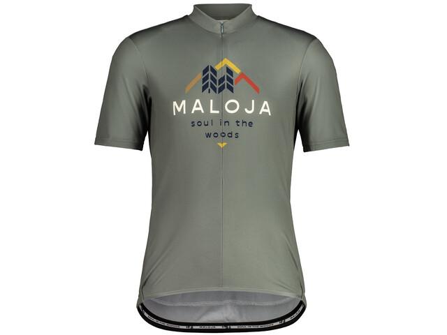 Maloja SchwarzerleM. 1/2 Short Sleeve Bike Jersey Men salvia